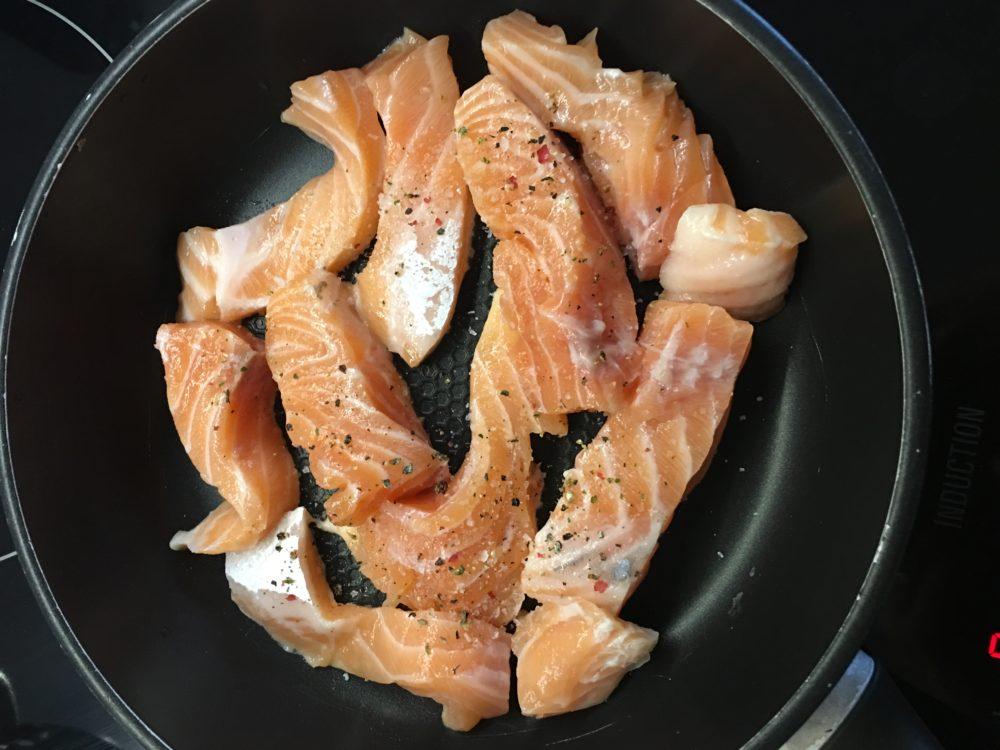 sushi łosoś